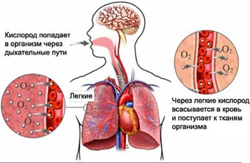 Оксигенотерапия при отеке легких