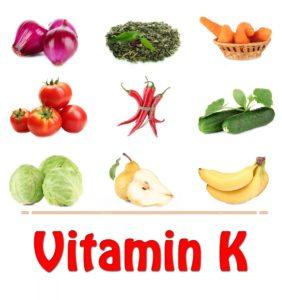 продукты, содержищие витамин К