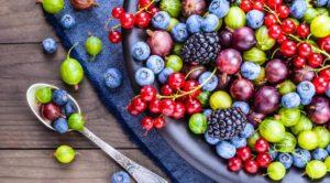 ягоды для сосудов