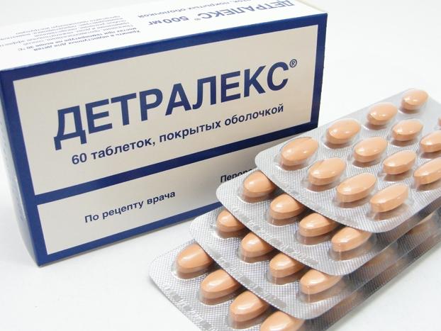 Курс лечения Детралексом при варикозе