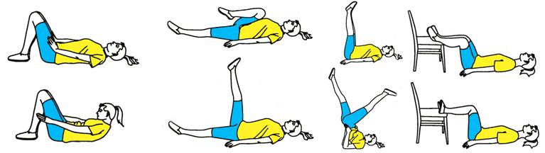 Разрешенные упражнения при варикозном заболевании