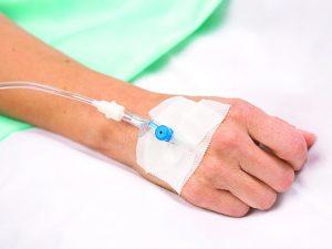 установленный венозный катетер как причина тромбофлебита
