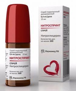 лекарственные формы нитроглицерина