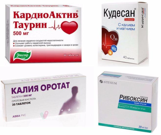 препараты при боли в сердце