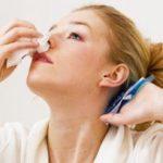 кровь из носа при высоком давлении