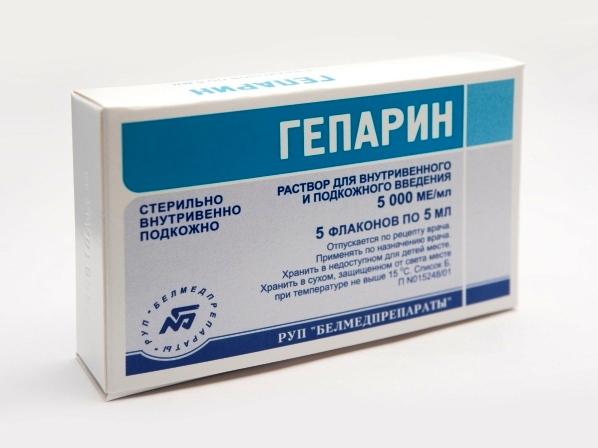 Гепарин при инфаркте