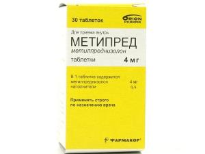 Метипред при лечении височного артериита