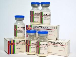 Цефтриаксон при лечении тромбоза