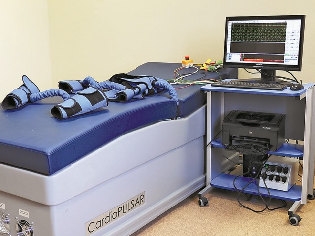 Аппарат для процедуры наружной контрпульсации