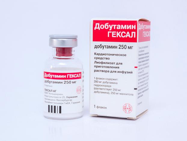 Применение Добутамина