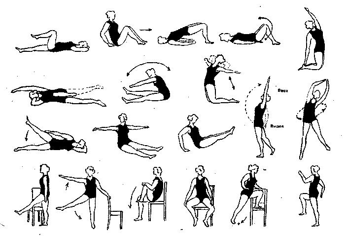 упражнения при гиподинамии
