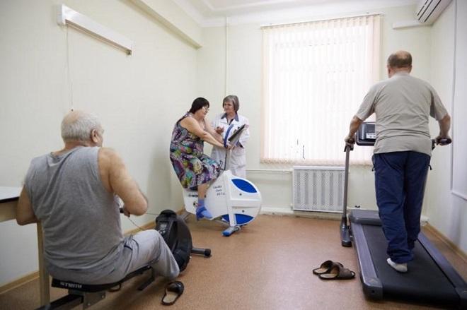 физ нагрузки во время реабилитации