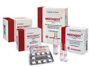 Мексидол для сосудов головного мозга