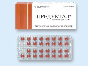 Действие препарата Предуктал