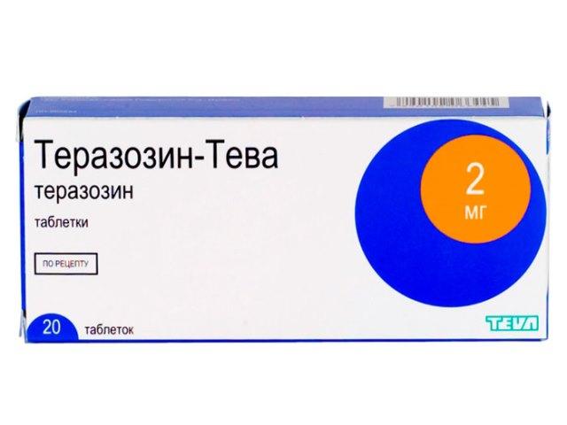Теразозин применение