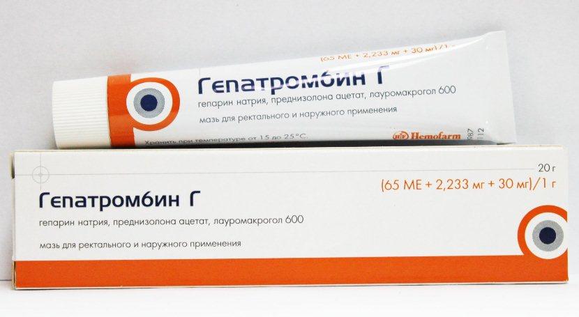 гепатромбин при варикозе