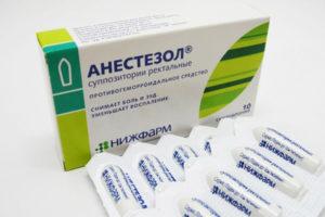 анестезол при геморрое