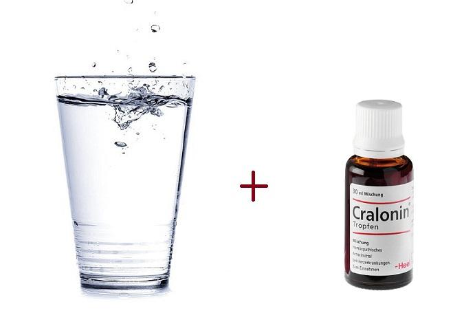 стакан воды и кралонин