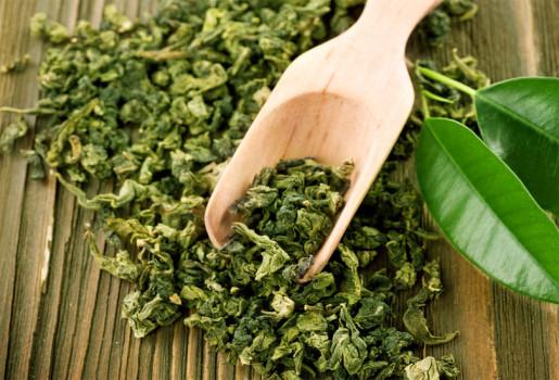 чай зеленый от давления