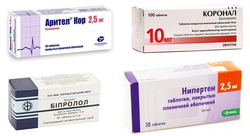 аналоги таблеток конкор