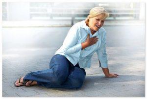 первая помощь при острой сердечной недостаточности
