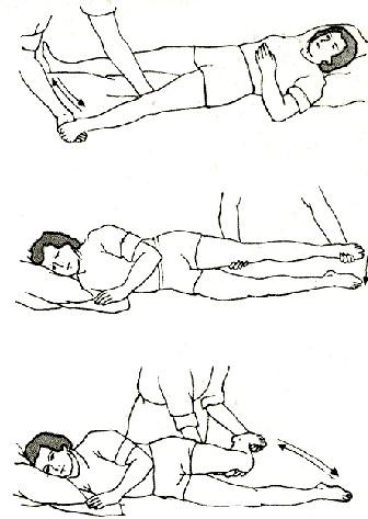 массаж ноги после инсульта