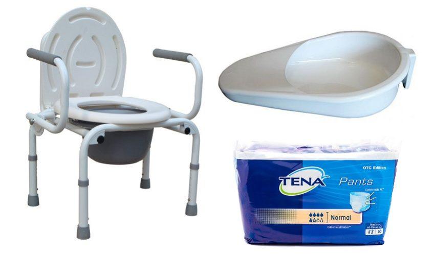 стул, туалет, памперсы, судно