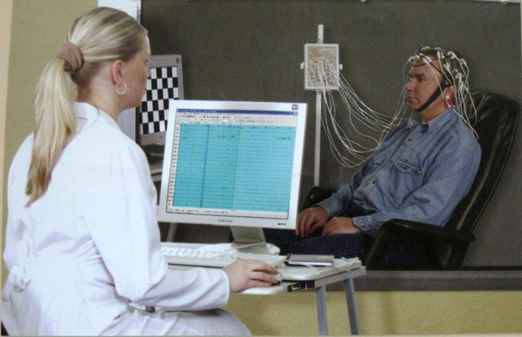 рэоэнцефалография