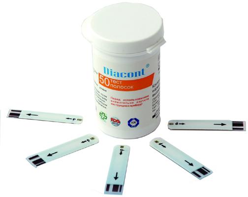 тест полоски для глюкометра