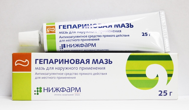 Гепариновая мазь при лечении петехий