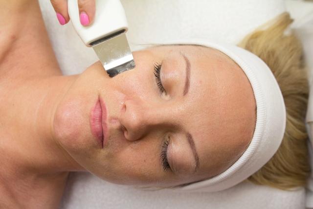 Ультразвуковая чистка лица при капиллярах