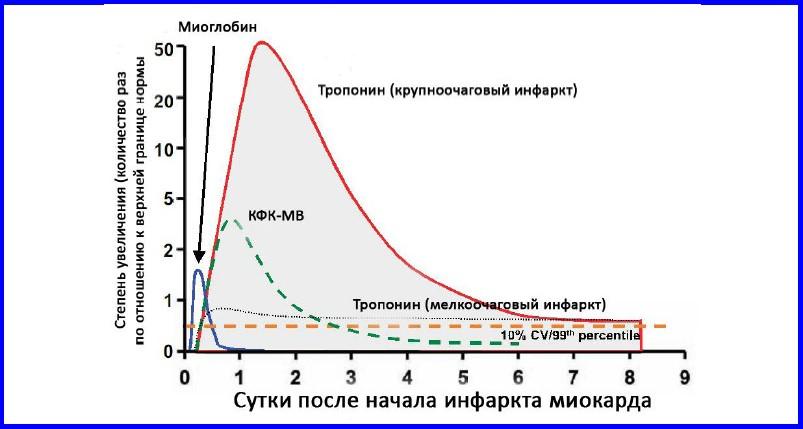 Показатель креатинфосфокиназы