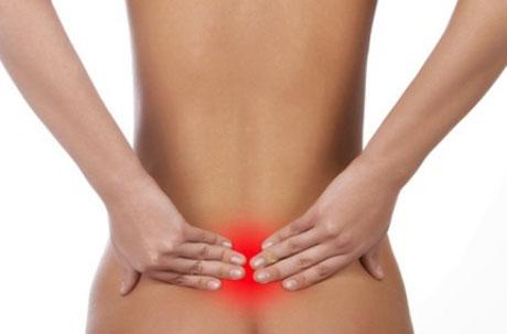 боль в пояснично-крестцовом отделе спины фото
