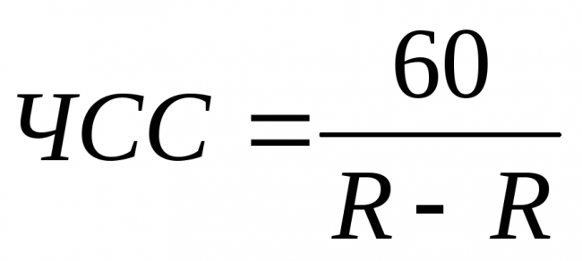 чсс формула