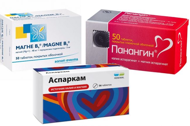 Магне В6 таблетки. панангин и аспаркам